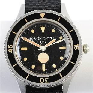 Tornek-Rayville TR-900 Military Diver's Stainless Steel