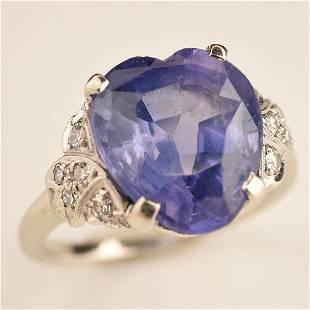 Natural Ceylon (Sri Lanka) Color-Change Sapphire,