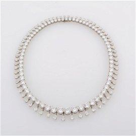 An Impressive Diamond, Platinum Riviera Fringe