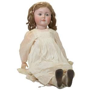 Simon & Halbig 117 Bisque Head Doll.