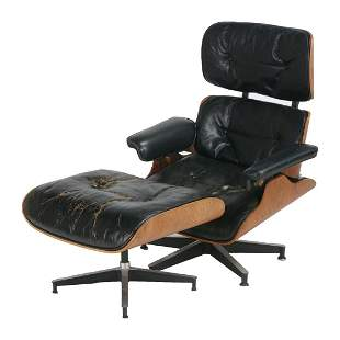 Eames for Herman Miller 670 Rosewood Lounge Chair and