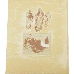 "Henry Moore ""Ideas from a Sketchbook"" (from la Poesie)"