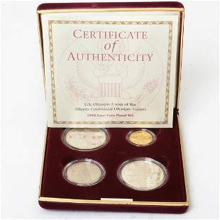 US 1995 Olympic Coin Set in Original Box.