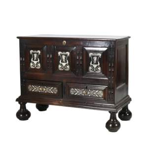 18th Century Dutch/William and Mary Oak Chest.