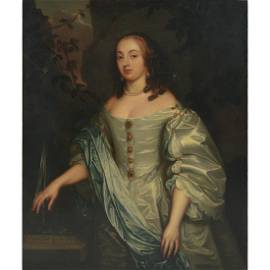 Very Large Painting on Canvas, Countess of Carlisle