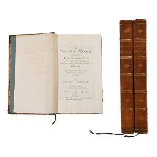 Elizabeth Blackwell, A curious Herbal, Volumes I & II