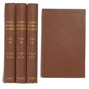 Curtis's Botanicals magazine 1862, 1863 and 1865