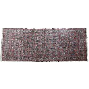 Fine Semi-Antique Persian Sarouk Mille Fleurs Rug.