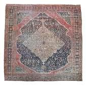 Persian Sarouk Carpet.