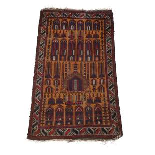 Caucasian Prayer Rug.