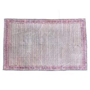 Indian Agra Carpet.
