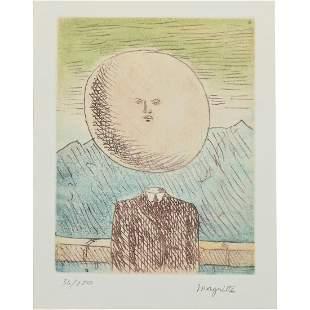 "Rene Magritte ""L'art de vivre 1968"""