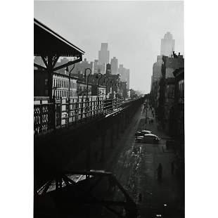 """Godfrey Frankel """"3rd Ave """"L"""" Train"""" vintage silver"""