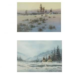 Watercolors, Dick Heichberger