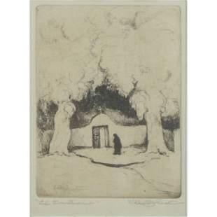 Print, William Shuster, El Sanctvario, 1929