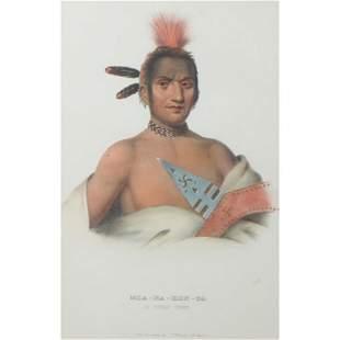Prints, Thomas McKenney and James Hall,Seneca Chief and
