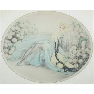 Print, Louis Icart, Belle Rose, 1933