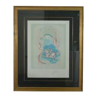 """Salvador Dali """"Dreams of a Horseman"""" Lithograph"""