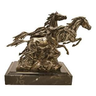 Sculpture, Ken Payne, Sons of Pegasus