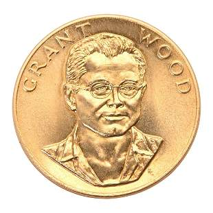 US 1980 American Arts Gold Medallion