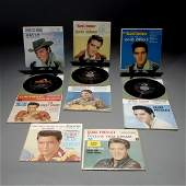 1704 Group of 8 Elvis Presley 45 Records RCA 196162