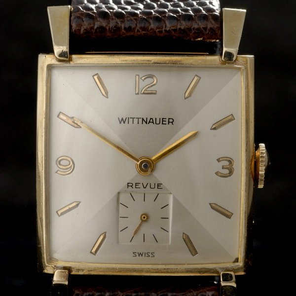 350: WITTNAUER 10K GOLD-FILLED YELLOW GOLD WRISTWATCH
