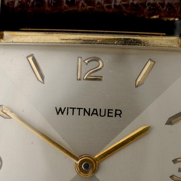 350: WITTNAUER 10K GOLD-FILLED YELLOW GOLD WRISTWATCH - 2