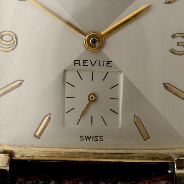 350: WITTNAUER 10K GOLD-FILLED YELLOW GOLD WRISTWATCH - 3