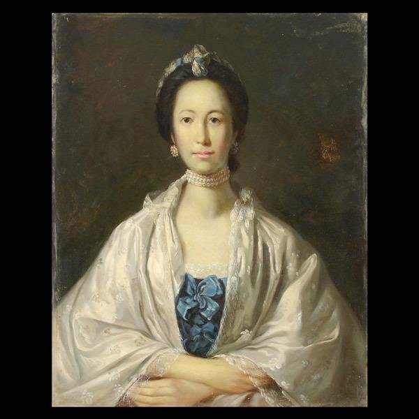 1024: 18TH/19th Century English Portrait of a Lady.