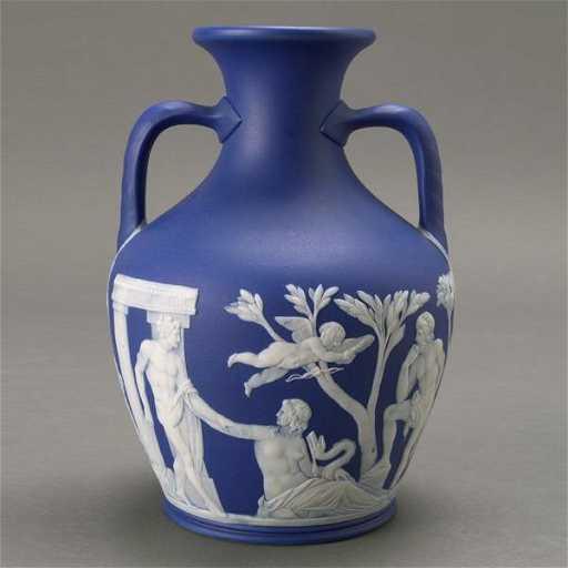 1211 Wedgwood Jasperware Two Handled Portland Vase