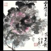 1472 Chinese Album Paintings of Flowers and Birds