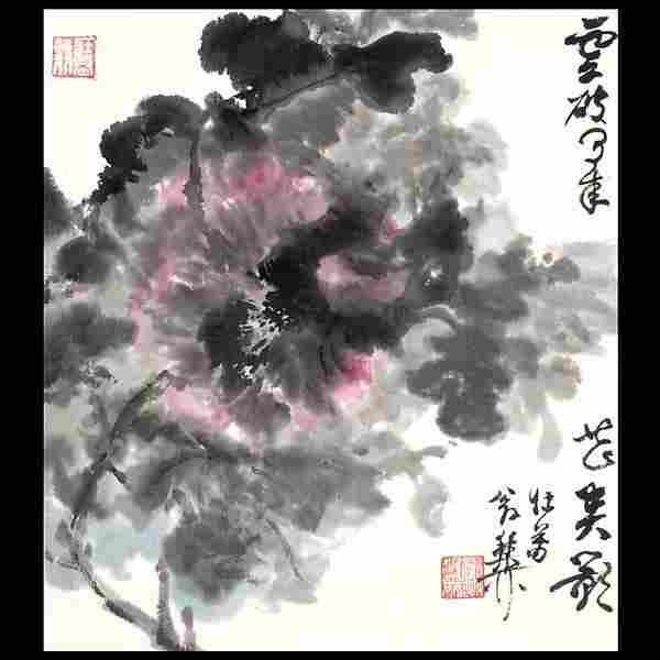 1472: Chinese Album Paintings of Flowers and Birds
