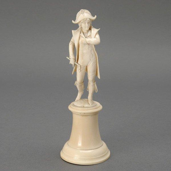 5: Dieppe Ivory Figure of Napoleon