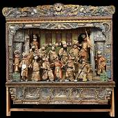A Rare and Magnificent Chinese Monumental Theatrical