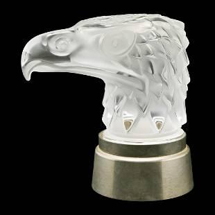 Lalique Tete D'Aigle Mascot.