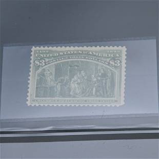 US 1893 Columbian Exposition Stamps