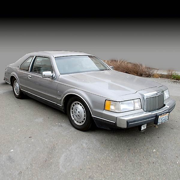 1: 1987 Lincoln LSC Mark VII; DOES NOT RUN