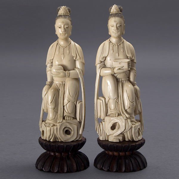 2010: A Pair of Ivory Figures*