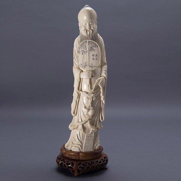 2012: A Carved Ivory Scholar*