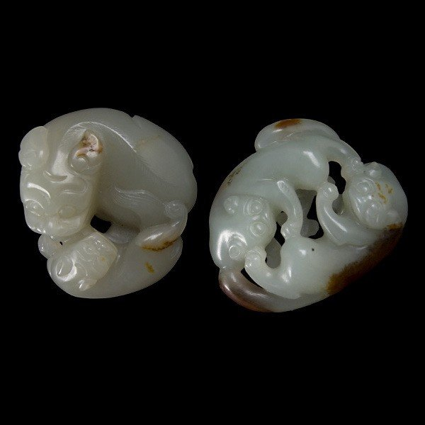 2020: Two Small Jade Carvings