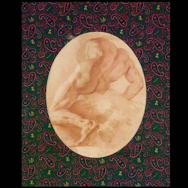 1008: Carle Vanloo figure study circa 1730