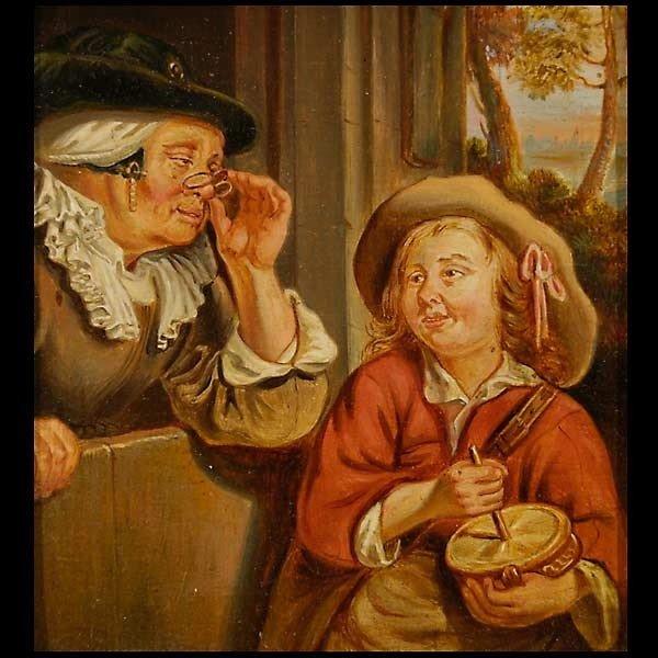 1009: Flemish School, 16th C. Oil.