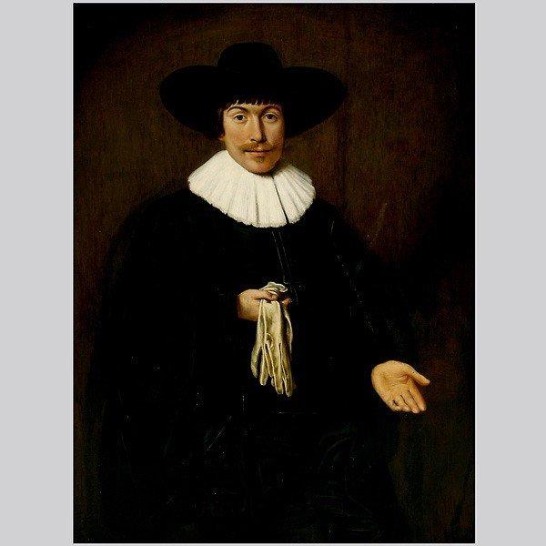 1020: 16th century Dutch school painting