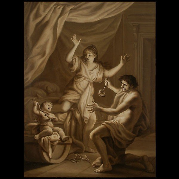 1021: 18th century French grisaille