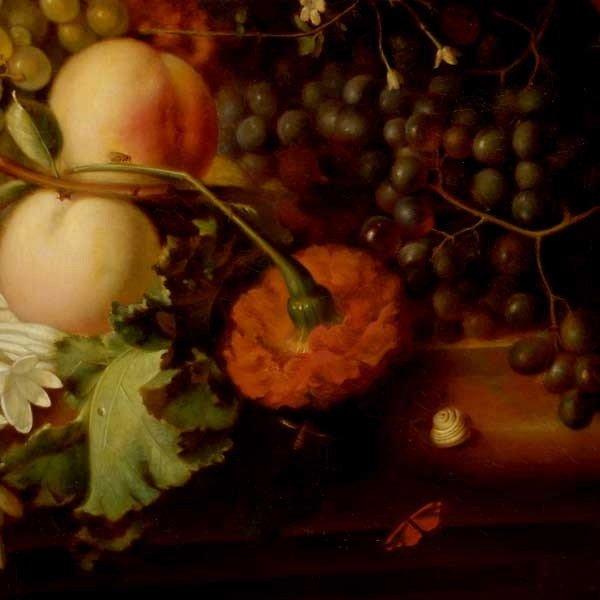"""1025: Attrib. Honorine Bouvret  """"Floral Still Life"""" Oil - 3"""