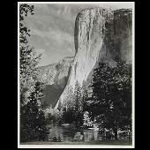 "1112: Ansel Adams. ""El Capitan"" Silver Gelatin print"