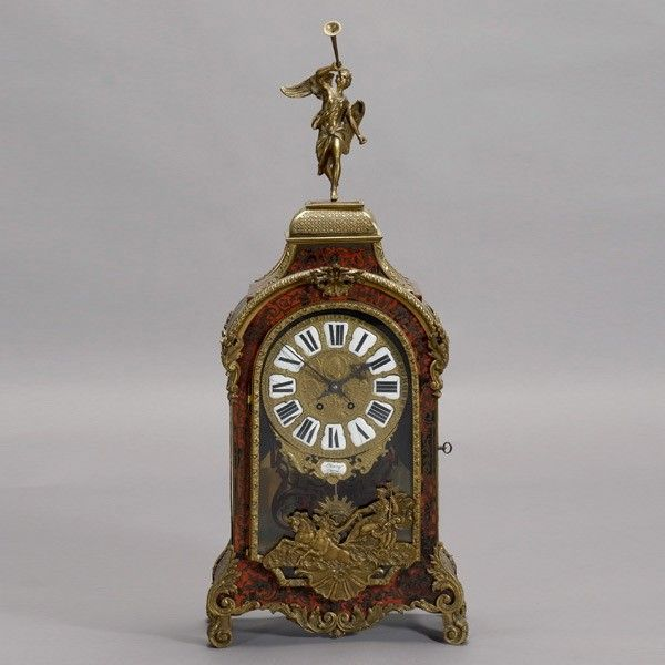 1149: Leroy Gaume Louis XV Style Boulle Clock