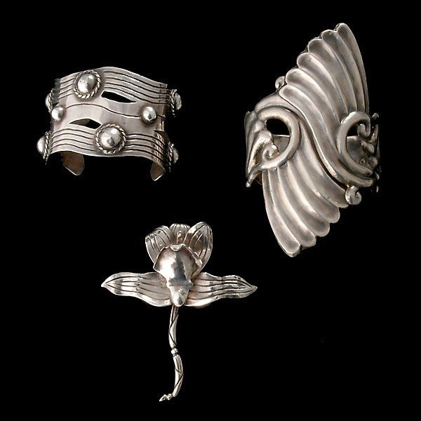5: MEXICAN STERLING JEWELRY: TAXCO AND AGUILAR.