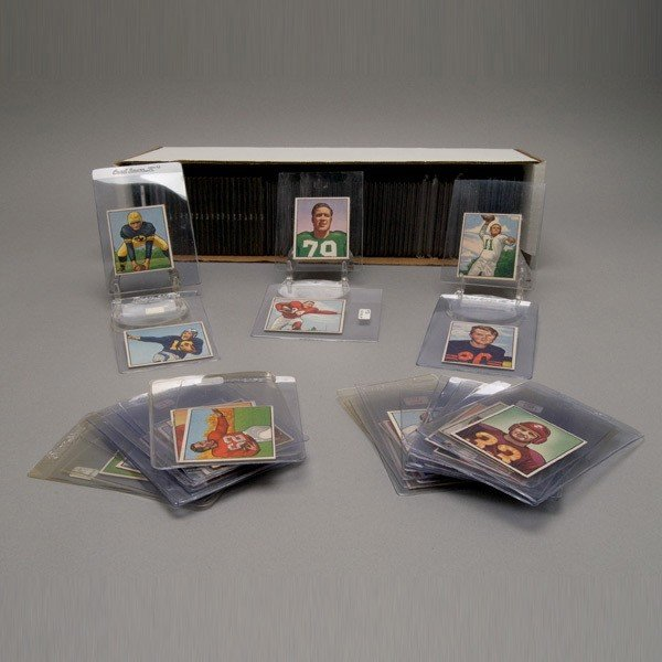 1520: Bowman 1950 Football Card Complete Set