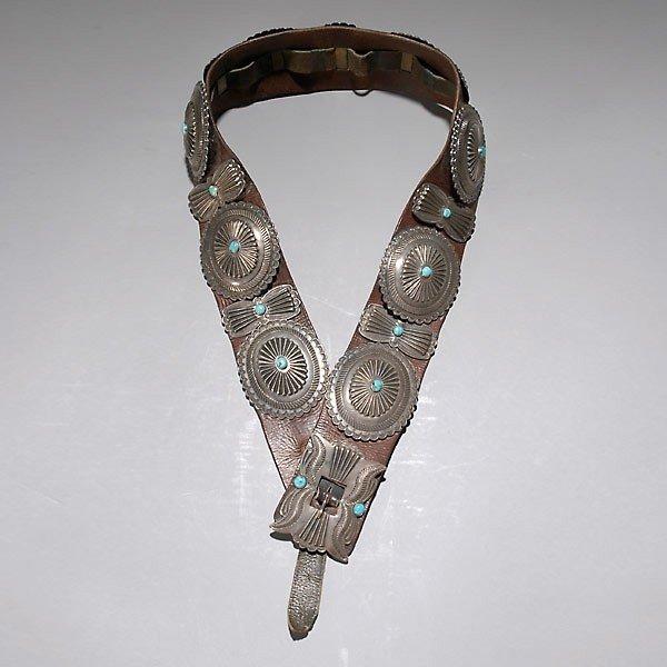 1011: navajo condo belt.  1910-1930 ca